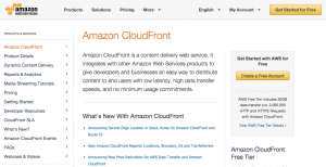 Amazon Cloud Front