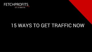 Ways to Get Traffic