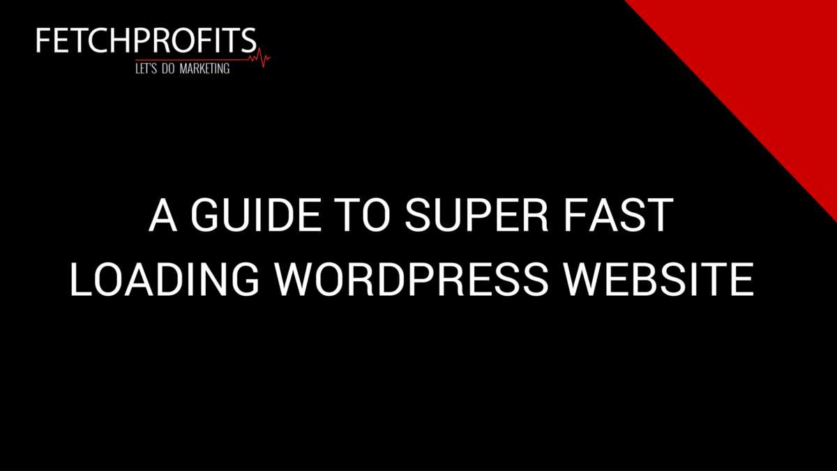 Super Fast WordPress Websites: A Quick Guide