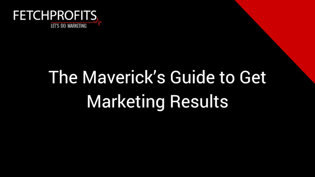 The Maverick's Guide to Get Marketing Results