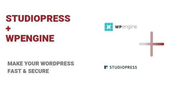 studiopress and wpengine