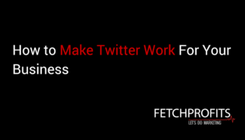 make twitter work for business