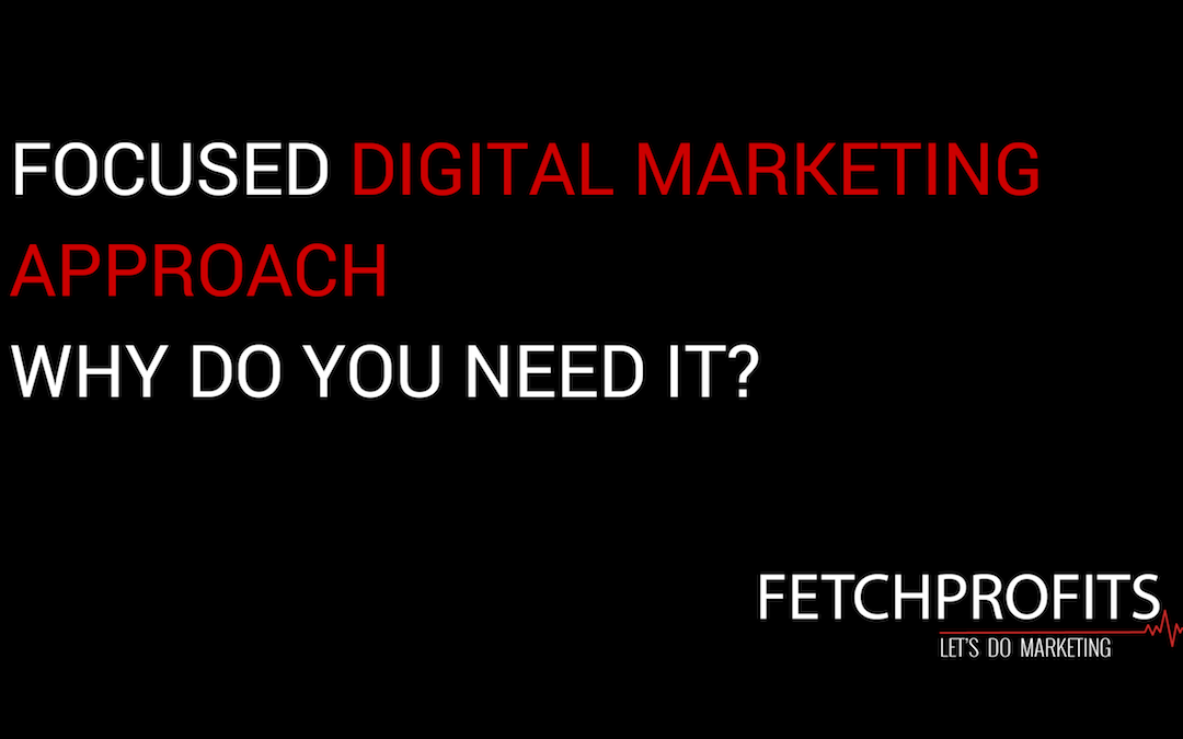 Focused Approach to Digital Marketing: Why Do You Need It?