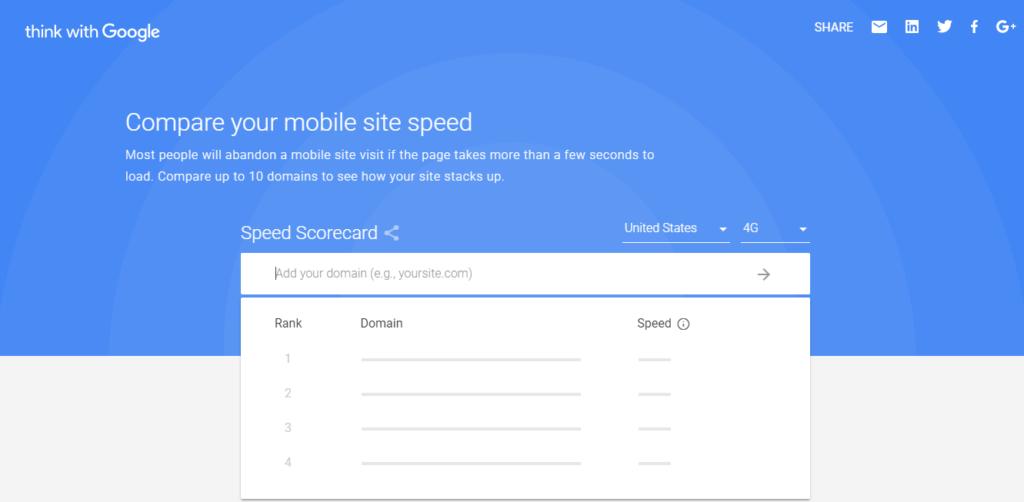 Speed Scorecard & Impact Calculator