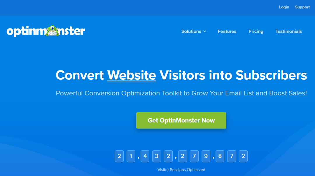 OptinMonster Review:  Use The Monster Lead Generation Tool Now