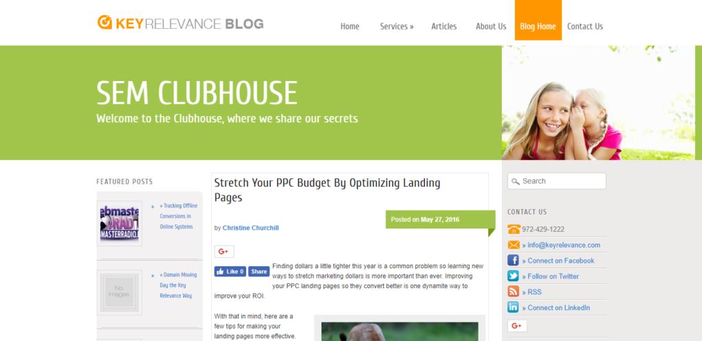 SEMClubHouse Blog