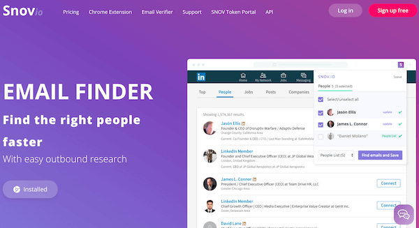 Snov.io Review :  Fast & Accurate Email Finding Tool (& It Digs LinkedIn)