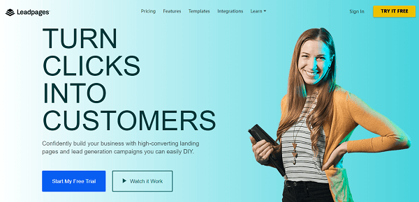 Coupon New Customer Leadpages 2020