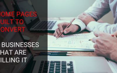 Home Pages Built to Convert: 8 Businesses That Are Killing It
