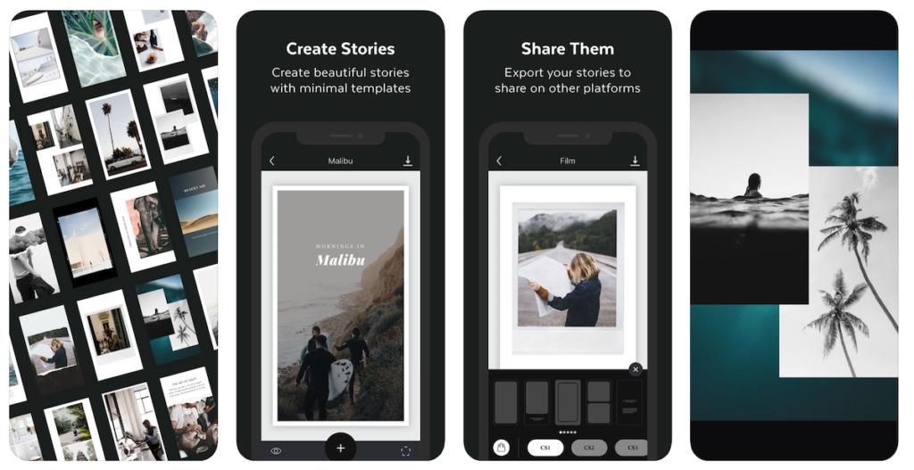 Unfold Instagram Stories App