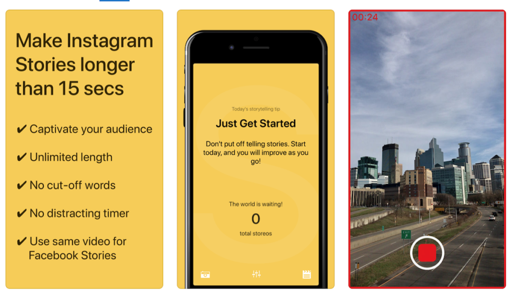 storeo Instagram Stories tool