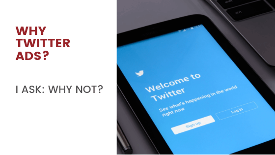 Why Twitter Ads? I ask: Why Not?