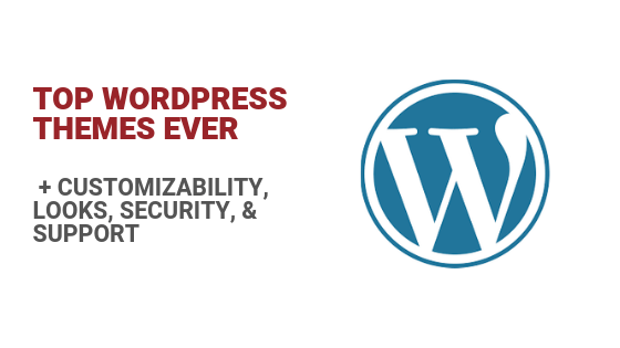 Top WordPress Themes, Ever [+ Security& Support]