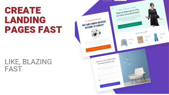 Create Fast Mobile Landing Pages (Like, Blazing Fast)