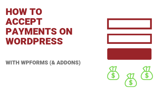 Accept payments on Wordpress
