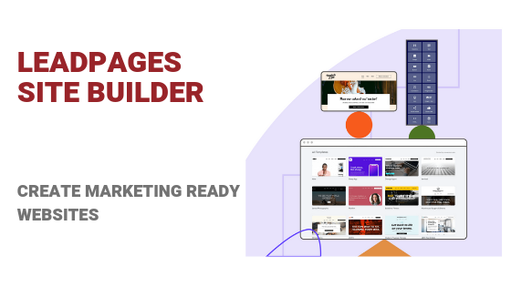 Leadpages site builder